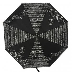 Зонт складной EMME M390A-OC Linea Music Nero фото-1