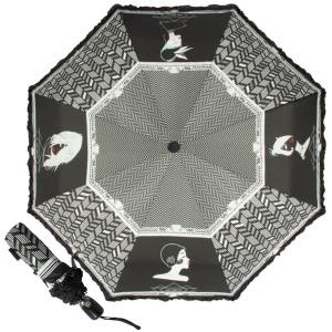 Зонт складной EMME M438-OC Art Deco Black фото-1