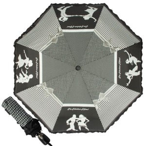 Зонт складной EMME M440-OC Dance Black фото-1