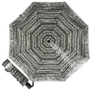 Зонт Складной EMME M444-OC Notes Black фото-1