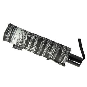 Зонт Складной EMME M444-OC Notes Black фото-4