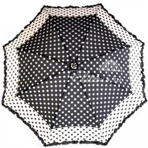 Зонт-трость Ferre 3030-LA Pois Nero New фото-3