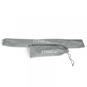 Зонт складной Ferre 371-OC Pois Black фото-7