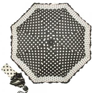 Зонт Складной Ferre 3031-OC Pois Nero new   фото-1