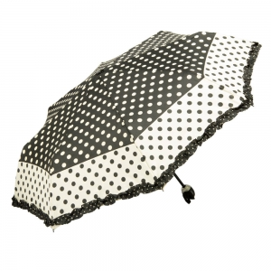 Зонт Складной Ferre 3031-OC Pois Nero new   фото-2