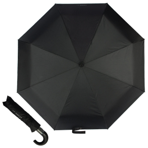 Зонт Складной Ferre 4015-OC Roma Black фото-1