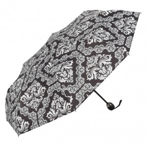 Зонт складной Ferre 6002-OC Pattern black фото-2