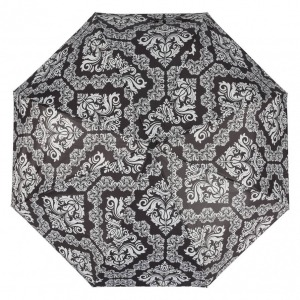 Зонт складной Ferre 6002-OC Pattern black фото-3