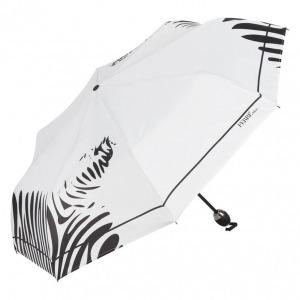 Зонт складной Ferre 6009-OC Zebra white фото-2