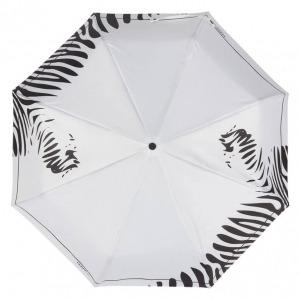 Зонт складной Ferre 6009-OC Zebra white фото-3