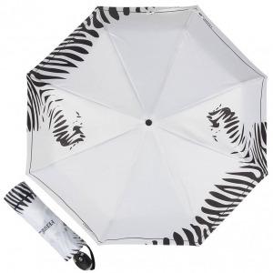 Зонт складной Ferre 6009-OC Zebra white фото-1