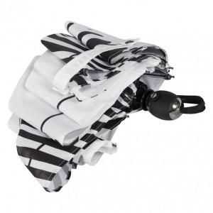 Зонт складной Ferre 6009-OC Zebra white фото-4
