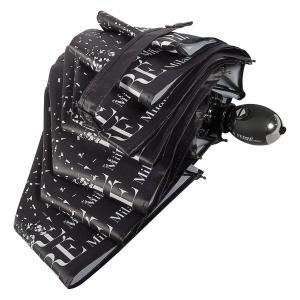 Зонт складной Ferre 6034-OC Fragment Black фото-4