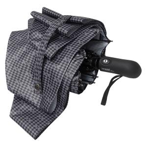 Зонт складной Ferre 6036-OC Rombo Grey фото-4