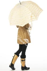 Зонт-трость Guy De Jean Marquise crema фото-4