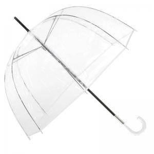 Прозрачный Зонт-трость Guy De Jean 1001-LM Seventies Blanco long фото-1
