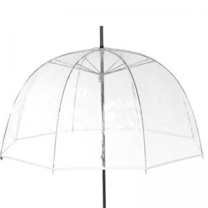 Прозрачный Зонт-трость Guy De Jean 1001-LM Seventies Blanco long фото-2