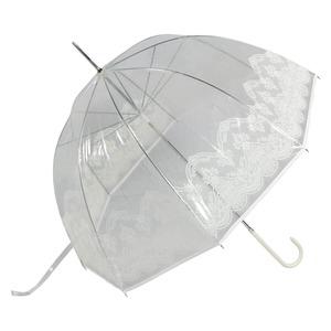 Зонт-трость Guy De Jean 1215-LM Frivole Tulle Bianco long фото-1