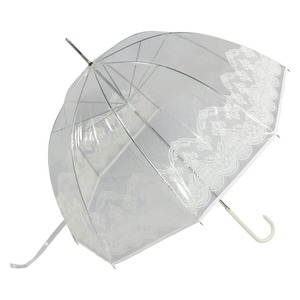 Зонт-трость GDJ 1215-LM Frivole Tulle Bianco long фото-1