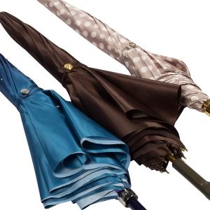 Зонт-трость Pasotti Uno Cetrio Fiora Classic Pelle фото-5