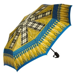Зонт складной Ferre 357-OC Barroco Blu фото-2