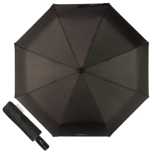 Зонт складной Ferre 4D-OC Classic Black фото-1