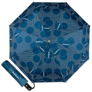 Зонт складной Baldinini 61-OC Dots Blue фото-1
