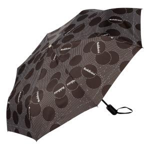 Зонт складной Baldinini 61-OC Dots Black фото-2