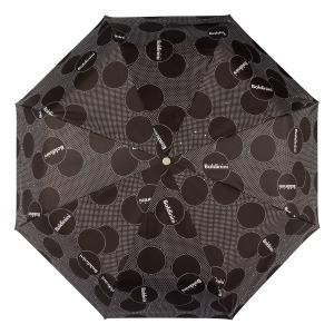 Зонт складной Baldinini 61-OC Dots Black фото-3