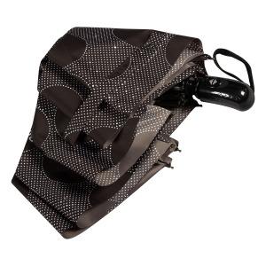 Зонт складной Baldinini 61-OC Dots Black фото-4