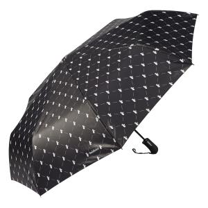 Зонт складной Baldinini 39-OC Сravatta Black фото-3