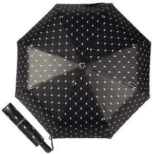 Зонт складной Baldinini 39-OC Сravatta Black фото-1