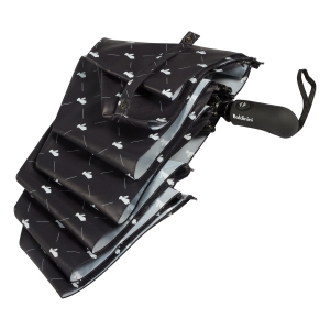 Зонт складной Baldinini 39-OC Сravatta Black фото-4