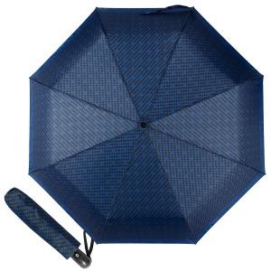 Зонт складной Ferre  4FU-OC Rombes Dark Blue фото-1