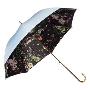 Зонт-трость Pasotti Sky Dots Flowers Oro Dentell фото-2