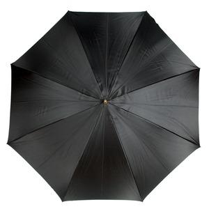 Зонт-трость Pasotti Nero Georgin Rosso Pelle фото-2