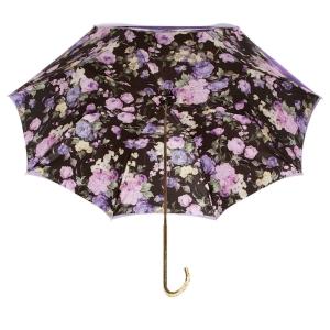 Зонт трость Pasotti Purpure Fiore Oro фото-2