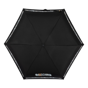 Зонт складной Moschino 8123-SuperminiA Toy Robot Black фото-3