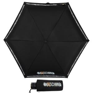 Зонт складной Moschino 8123-SuperminiA Toy Robot Black фото-1