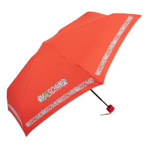 Зонт складной Moschino 8123-SuperminiC Toy Robot Red фото-2