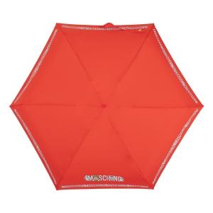 Зонт складной Moschino 8123-SuperminiC Toy Robot Red фото-3