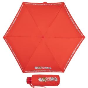 Зонт складной Moschino 8123-SuperminiC Toy Robot Red фото-1