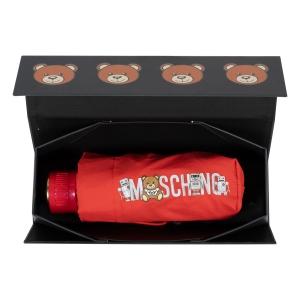 Зонт складной Moschino 8123-SuperminiC Toy Robot Red фото-5