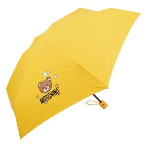 Зонт складной Moschino 8211-compactU Toy Stars Yellow фото-2
