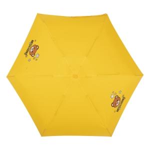 Зонт складной Moschino 8211-compactU Toy Stars Yellow фото-3