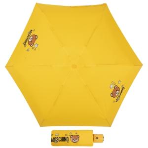 Зонт складной Moschino 8211-compactU Toy Stars Yellow фото-1