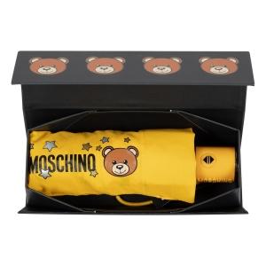Зонт складной Moschino 8211-compactU Toy Stars Yellow фото-6
