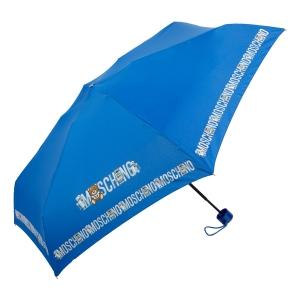 Зонт складной Moschino 8123-SuperminiF Toy Robot Blue фото-2