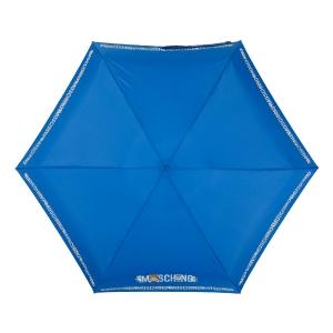Зонт складной Moschino 8123-SuperminiF Toy Robot Blue фото-4