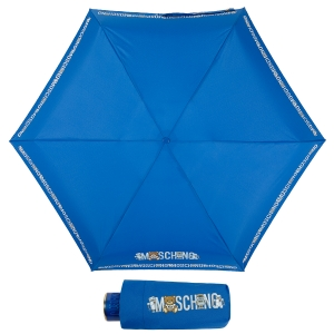 Зонт складной Moschino 8123-SuperminiF Toy Robot Blue фото-1